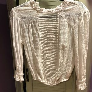 Free People vintage-inspired boho blouse